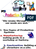 Manufacturing Systems PowerPoint