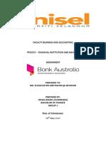 FIB - Bank Australia Assignmnt