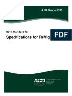 AHRI Standard 700 2017