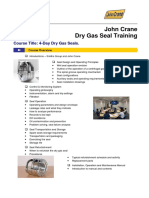 4-Day Dry Gas Seal Course 2015