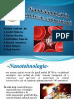 Nanotehnologii in Industria Alimentara