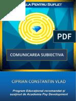 Suport de Curs - Comunicarea Subiectiva