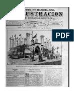 La Ilustracion Revista Hispanoamericana Trasatlantic