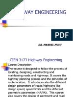 2017 Highway Engineering