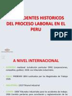 ANTECEDENTES DERECHO LABORAL PERU