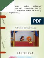 Comprender Textos Aplicando Estrategias de Comprensión Lectora
