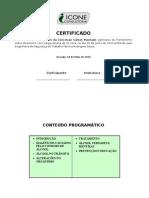certificado de alcolismo