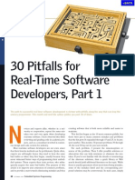 30 Pitfalls in Rtos
