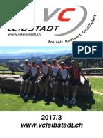 Vereinsheft Veloclub Leibstadt 2017/3