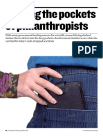 Philanthropists Funding (RSC)