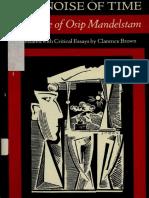 MANDELSTAM Osip - The noise of time. The prose of Osip Mandelstam -North Point Press (1986).pdf
