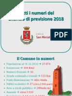 Bilancio Di Previsione 2018 Presentazione Conf Stampa Del 29-12-17 Bozza