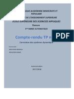 Compte Rendu Tp 3 ضسسثق