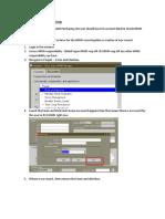 Purchasing Document Buyer Setup