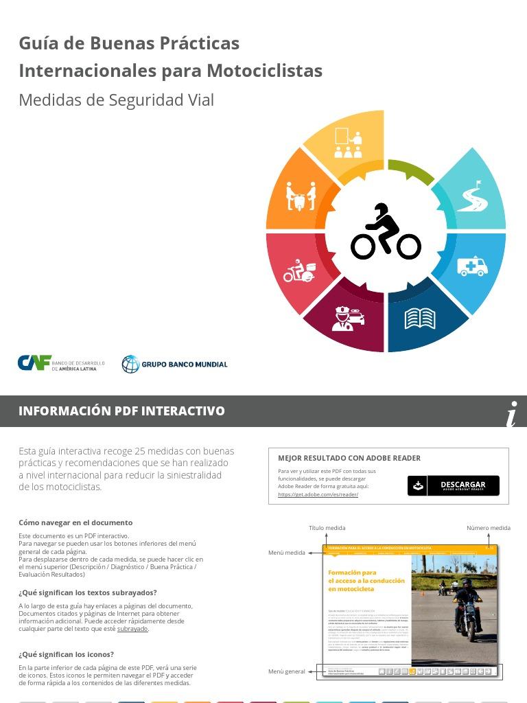 Guia de Buenas Practicas Internacionales Para Motociclistas 06-10-2017 387703f6b78