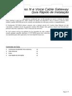 Manual (Folheto) Modem-RoteadorTechnicolor TC7300 WiFi-1374090884519