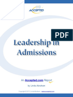 Accepted Leadership Report