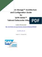 Guide to Integrate IBM System Storage With SAP HANA TDI V2.4