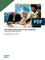 SAP TDI FAQ