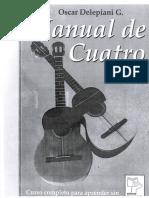 Manual de Cuatro - Oscar Delepiani G - 1