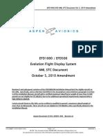 035-00007-002 A EFD1000-500 AML STC doc 10 5 10 Amndmnt