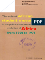African Studen Movements