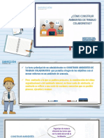 Como Construir Ambientes Trabajo Colaborativo Direccion Personal Psicologia Organizacional