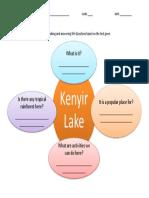 Worksheet Reading y4 (Kenyir Lake)