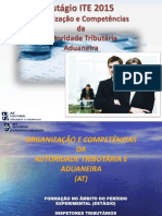 Organizacao e Competencias Da At
