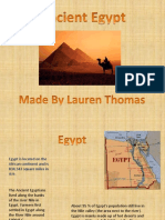 Anicent Egypt Lauren