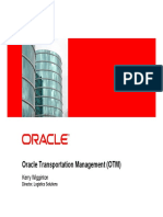 Oracle Transportation Management Details