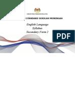 Secondary Syllabus Form 2
