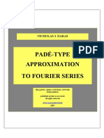 Pade approximants