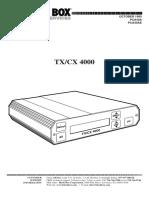 Pca40a(e) Manual