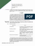 Pathogenic Bacteria & Iron
