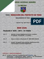 4)Redaccion de Proyecto de Tesis