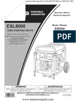 030244 0 Om Owners Manual Briggs & Stratton Generac Generators Pressure Washers Water Pumps Air Compressors (1)