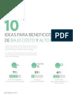 GOintegro 10 Ideas Para Beneficios de Bajo Costo y Alto Impacto