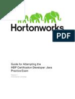 HDPCD Java PracticeExamGuide