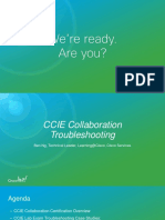 CCIE Collaboration Troubleshoting