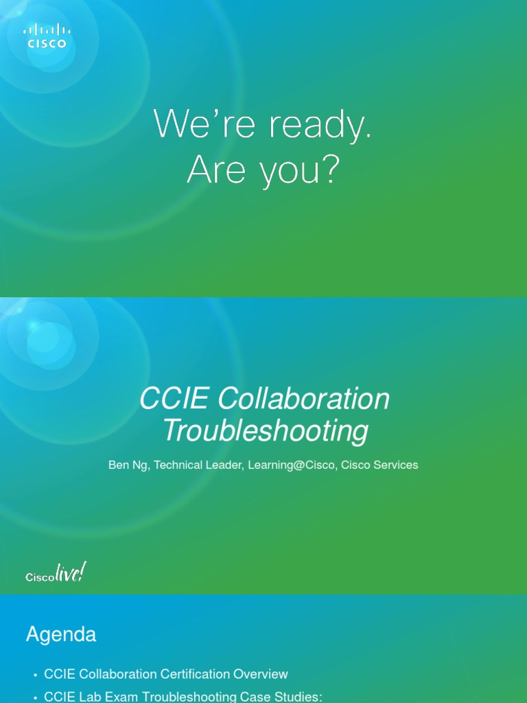 CCIE Collaboration Troubleshoting   Session Initiation