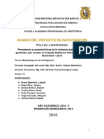 4 Proyecto de La Investigacion