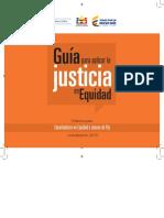 Guía para aplicar la justicia en Equidad (2015) (Tercera Edición)