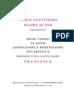 20171231 Libretto Maria Madre Di Dio Pvespri