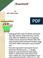 Genetika Kuantitatif