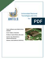 Modelo de Enlace Satelital Jose Valeriano Leaño UNTELS
