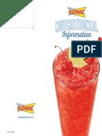 Sonic Nutricional