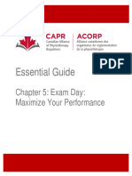 Chapter 5 Exam Day Maximize Your Performance