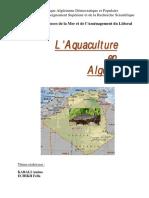 Aquaculture Algerie