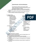 Examen Final de Administración y Gestion Empresarial